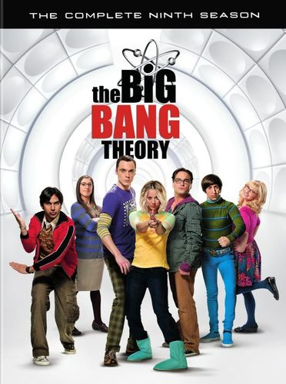 The Big Bang Theory: The Complete Ninth Season [3 Discs] [DVD] 5462116