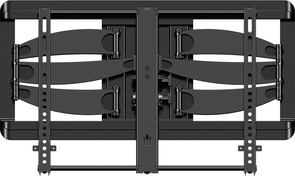 "Sanus - Premium Series Full-Motion TV Wall Mount for Most 42"" - 90"" Flat-Panel TVs - Black"