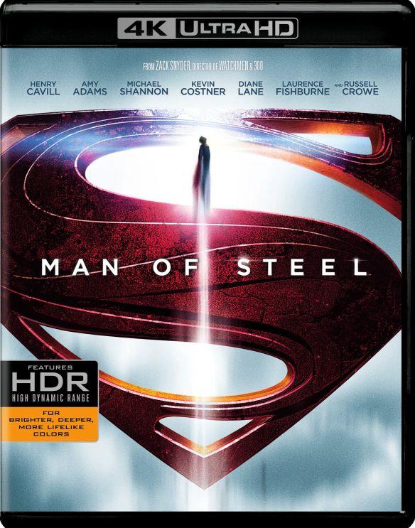 Man of Steel [4K Ultra HD Blu-ray/Blu-ray] [Includes Digital Copy] [UltraViolet] [2013] 5463800
