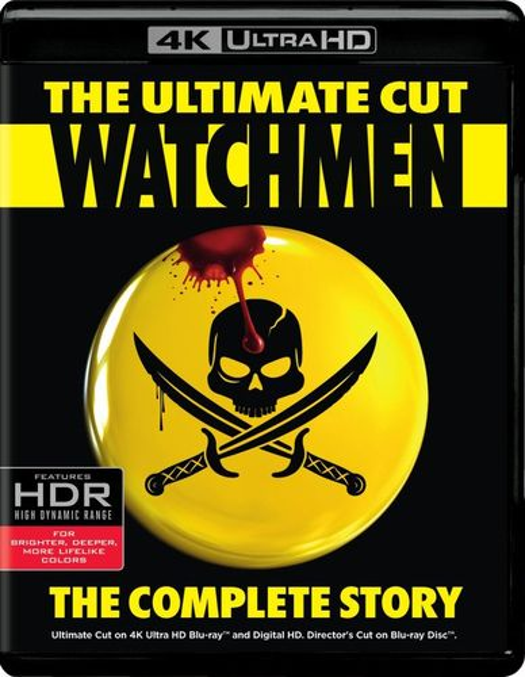 Watchmen [The Ultimate Cut] [4K Ultra HD Blu-ray/Blu-ray] [Includes Digital Copy] [UltraViolet] [2009] 5463900