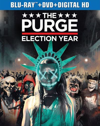 The Purge: Election Year [Includes Digital Copy] [Blu-ray] [2016] 5466505