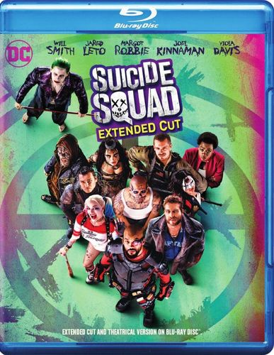 Suicide Squad [Extended Cut] [Blu-ray] [2016] 5472102