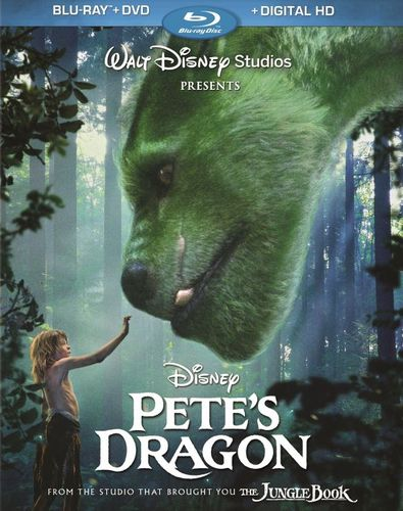 Pete's Dragon [Includes Digital Copy] [Blu-ray/DVD] [2016] 5480100