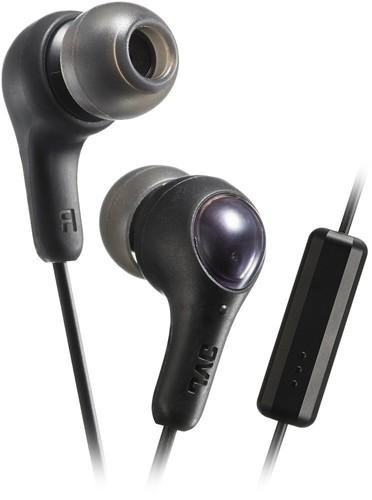 JVC HA-FX7M Gumy Plus Inner-Ear Headphones (Black)
