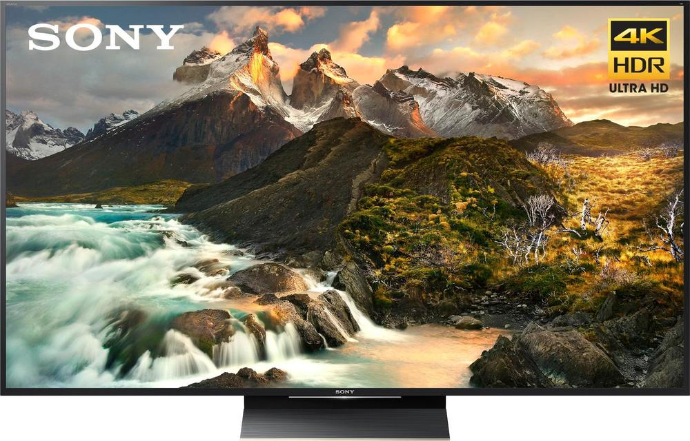 """Sony - 65"""" Class - LED - Z9D Series - 2160p - Smart - 4K UHD TV with HDR largeFrontImage"""