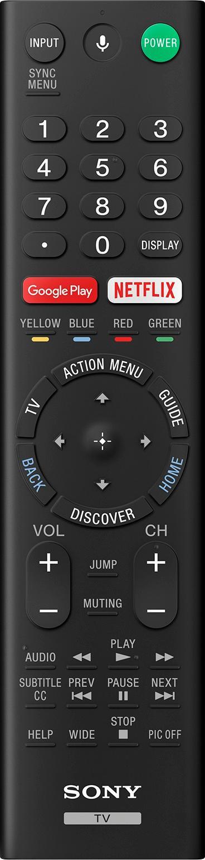 Sony XBR100Z9D remoteControlImage