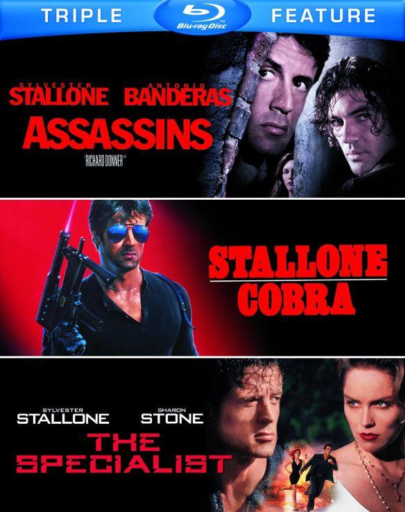 Assassins/Cobra/The Specialist [3 Discs] [Blu-ray] 5483736