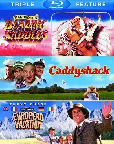 Blazing Saddles/Caddyshack/National Lampoon's European Vacation [3 Discs] [Blu-ray] 5485149
