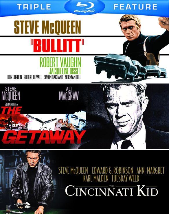 Bullitt/The Cincinnati Kid/The Getaway [Blu-ray] 5485185