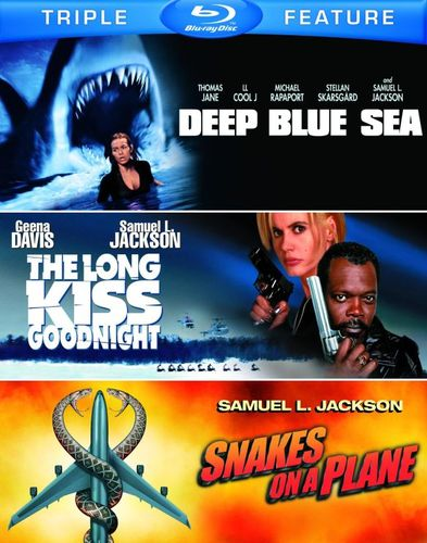 Deep Blue Sea/The Long Kiss Goodnight/Snakes on a Plane [3 Discs] [Blu-ray] 5485219