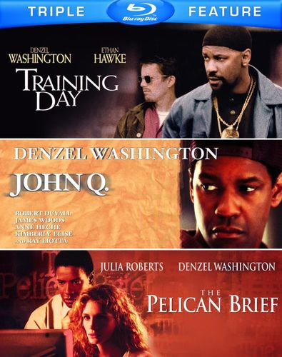 John Q./The Pelican Brief/Training Day [3 Discs] [Blu-ray] 5485255