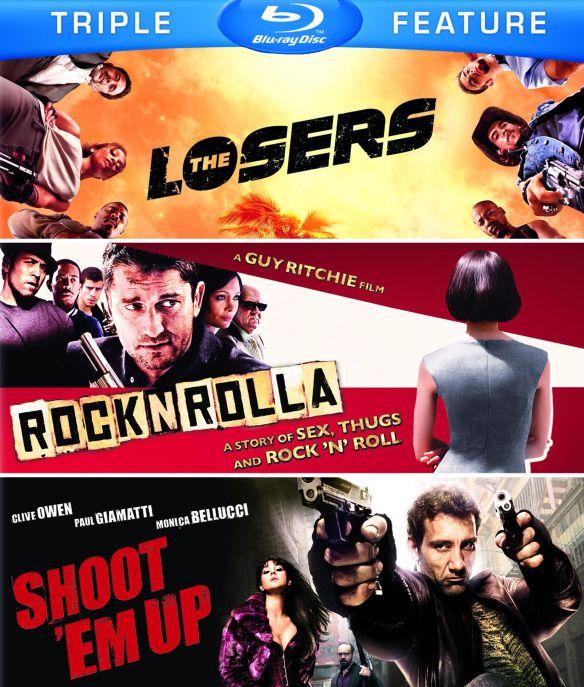 Losers/RocknRolla/Shoot 'Em Up [3 Discs] [Blu-ray] 5485264