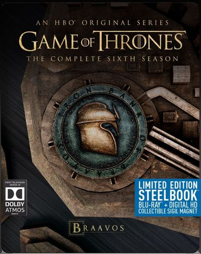 Game of Thrones: The Complete 6th Season [Digital Copy] [Blu-ray] [SteelBook] [Only @ Best Buy] 5488100