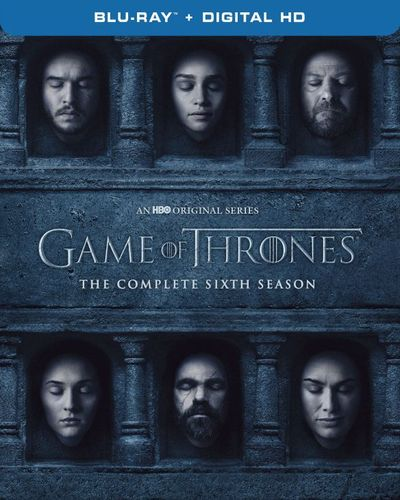 Game of Thrones: The Complete 6th Season [Includes Digital Copy] [Blu-ray] 5488201