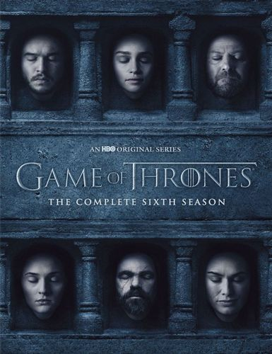 Game of Thrones: The Complete 6th Season [DVD] 5488300