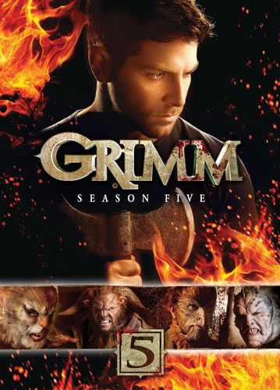 Grimm: Season Five [5 Discs] [DVD] 5489101
