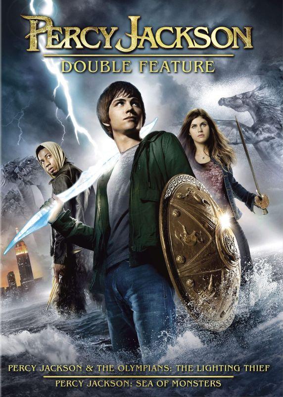 Percy Jackson Double Feature [2 Discs] [DVD] 5492700