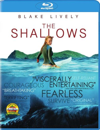 The Shallows [Includes Digital Copy] [UltraViolet] [Blu-ray] [2016] 5495338