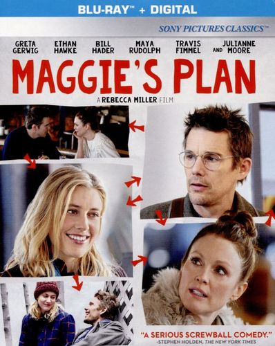 Maggie's Plan [Includes Digital Copy] [UltraViolet] [Blu-ray] [2015] 5495339