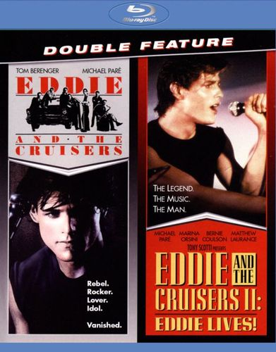 Eddie and the Cruisers/Eddie and the Cruisers II: Eddie Lives! [Blu-ray] [1989] 5496229