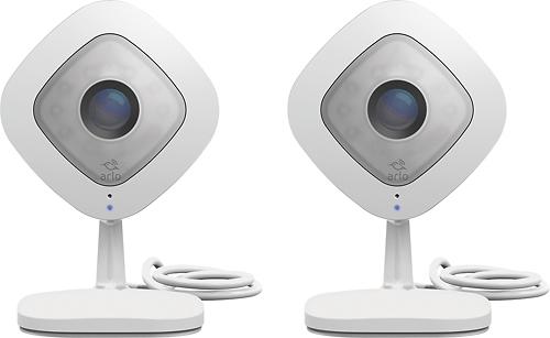 NETGEAR - Arlo Q Indoor 1080p HD Wi-Fi Security Camera (2-Pack)