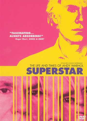 Superstar: The Life and Times of Andy Warhol [DVD] [1990] 5500415
