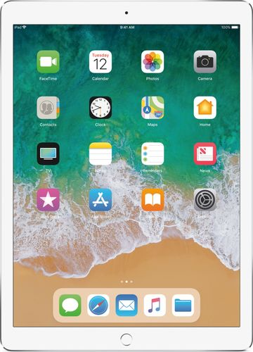 Apple - iPad Pro 12.9-inch (Latest Model) with Wi-Fi + Cellular - 256 GB - Silver 5502100
