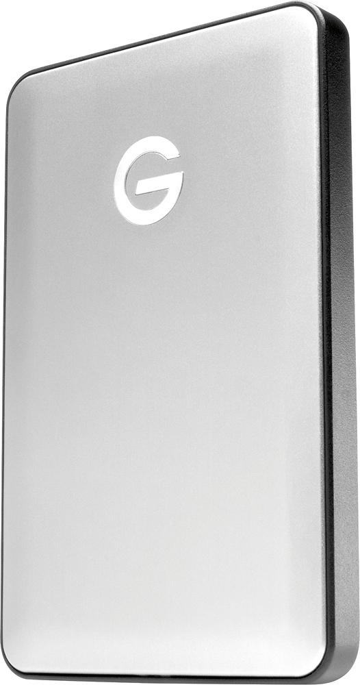 G-Technology G-DRIVE mobile USB-C 1TB External USB 3.1 Gen1 Portable Hard Drive Silver 0G04876