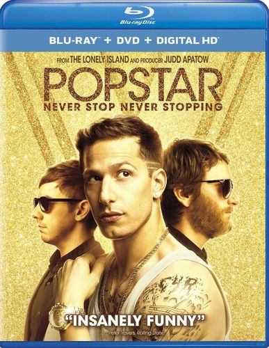 Popstar: Never Stop Never Stopping [Blu-ray/DVD] [2 Discs] [2016] 5507470