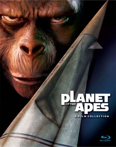 Planet of the Apes: 5-Film Collection [5 Discs] [Blu-ray] 5513191