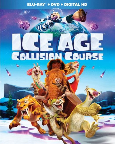 Ice Age: Collision Course [Blu-ray/DVD] [2016] 5526401