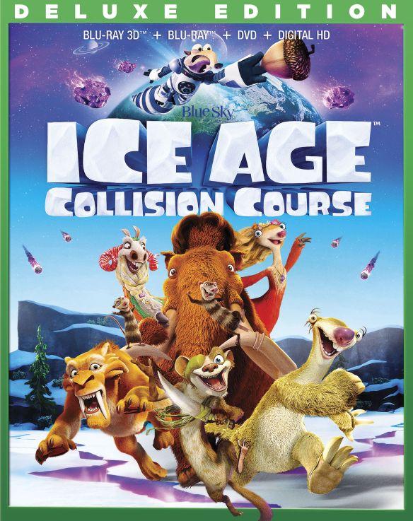 Ice Age: Collision Course [3D] [Blu-ray/DVD] [Blu-ray/Blu-ray 3D/DVD] [2016] 5526402