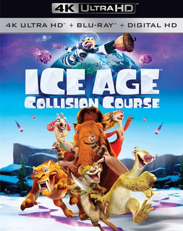 Ice Age: Collision Course [4K Ultra HD Blu-ray/Blu-ray] [UltraViolet] [Includes Digital Copy] [2016] 5526403