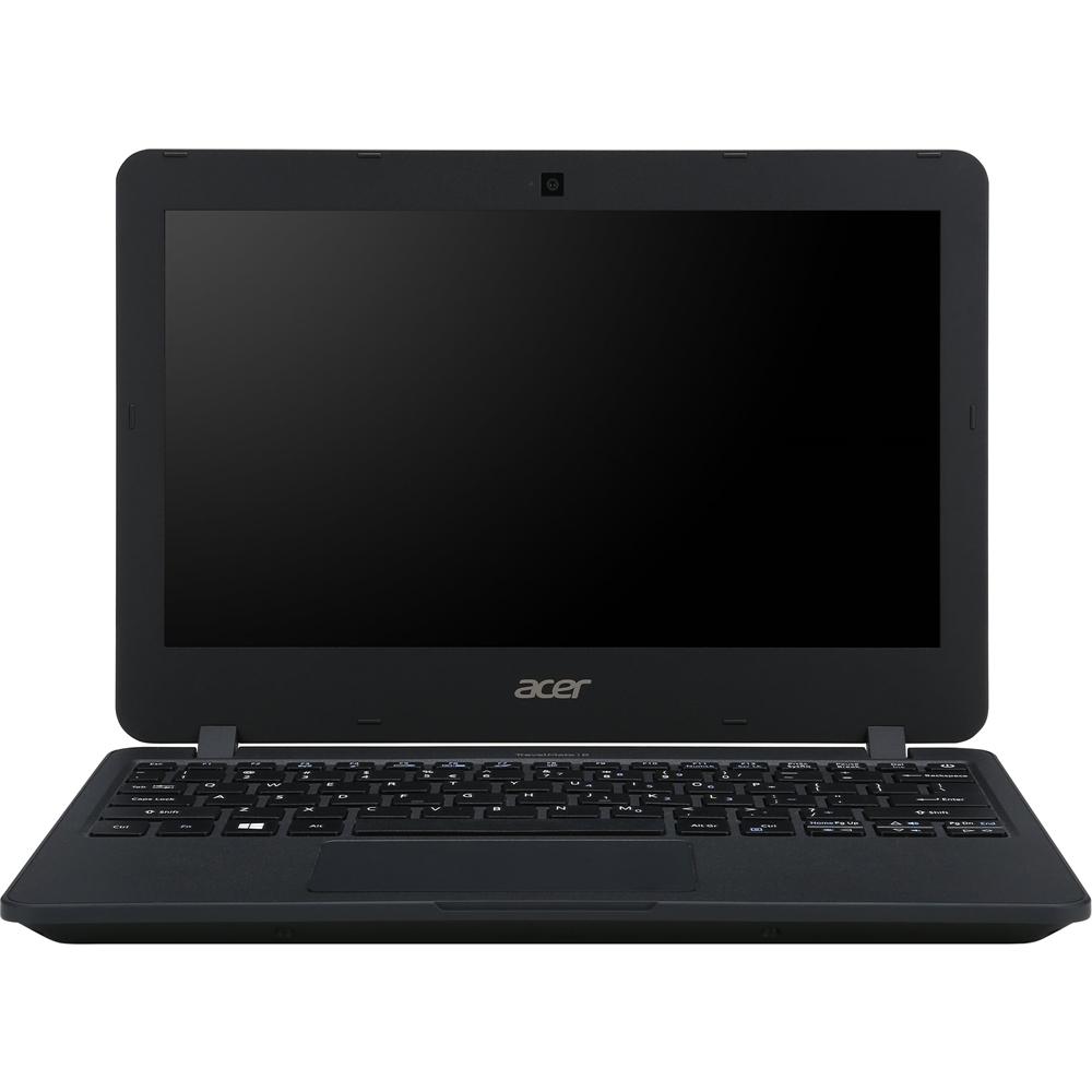 "Acer TravelMate 11.6"" Laptop Intel Celeron 4GB Memory 128GB Solid State Drive Black TMB117MC9GH"
