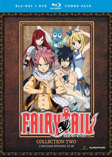 Fairy Tail: Collection Two [8 Discs] [Blu-ray] 5533115