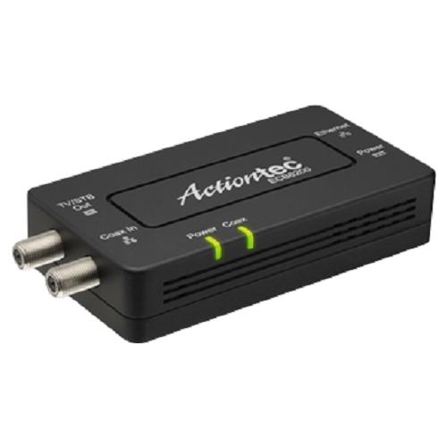 Actiontec ECB6200S02 Bonded MoCA 2.0 Network Adapter Black