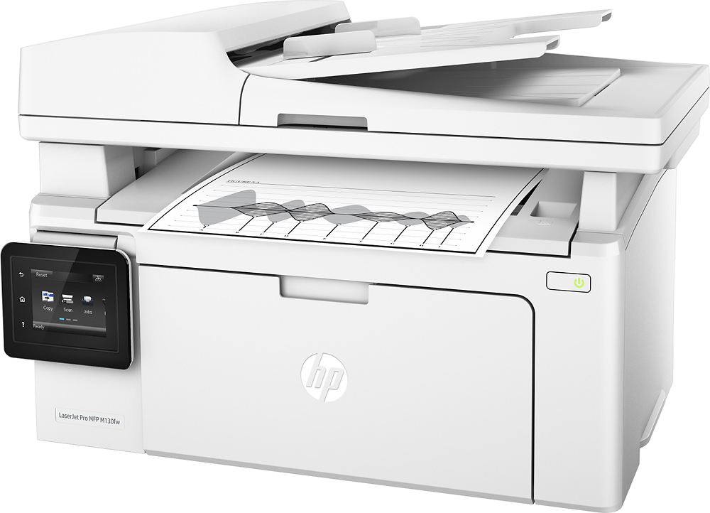 HP G3Q60A#BGJ LaserJet Pro MFP M130fw Wireless Black-and-White All-In-One Printer