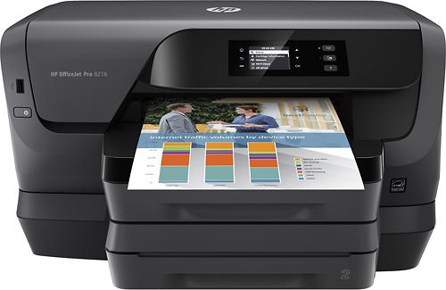 HP - OfficeJet Pro 8216 Wireless Inkjet Instant Ink Ready Printer