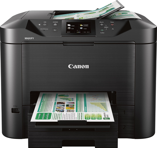 Canon - MAXIFY MB5420 Wireless All-In-One Printer - Back 5538100