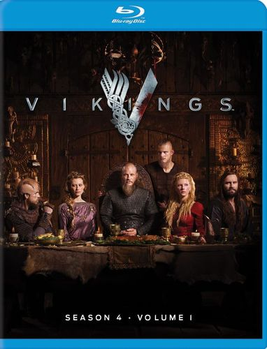 Vikings: Season 4 - Vol. 1 [Blu-ray] [3 Discs] 5543002