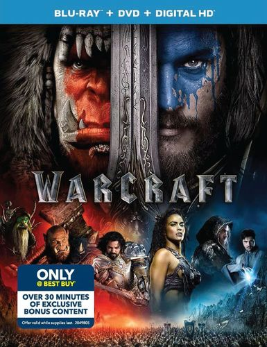 Warcraft [Includes Digital Copy] [Blu-ray/DVD] [Only @ Best Buy] [Bonus Content] [2016] 5544403