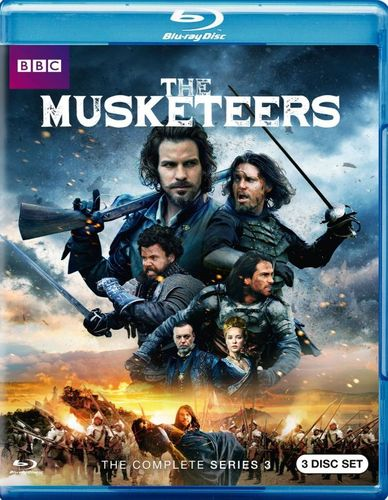 The Musketeers: Season 3 [Blu-ray] 5548607