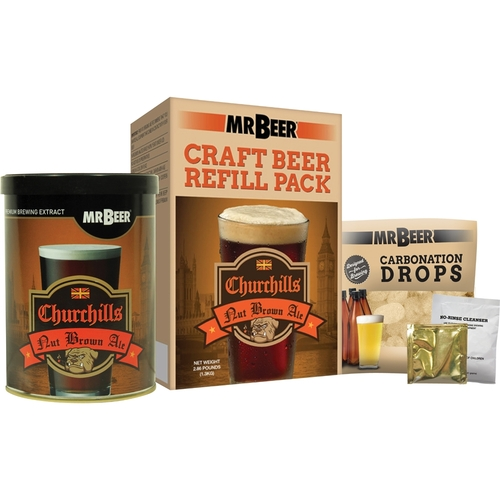 Mr. Beer - Churchills Nut Brown Ale Refill 5556906