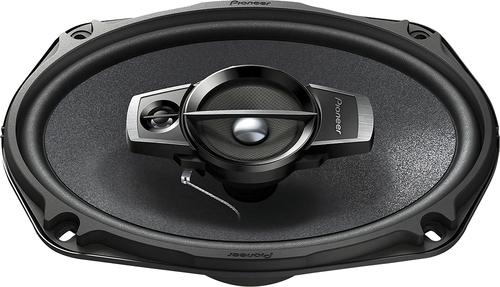 "Pioneer - TS-A Series 6"" x 9"" 3-Way Car Speakers with Multilayer Mica Matrix Cones (Pair) - Black"