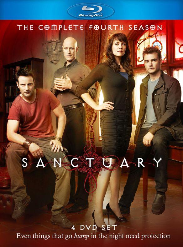 Sanctuary: The Complete Fourth Season [4 Discs] [Blu-ray] 5560082