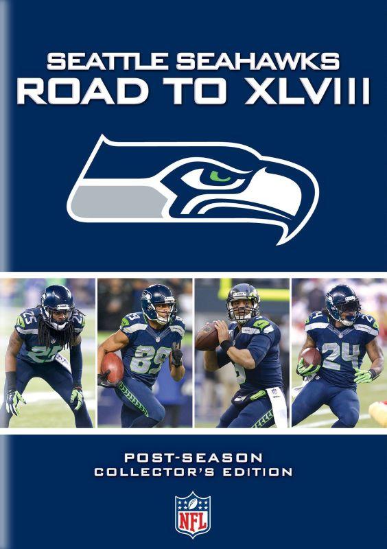 NFL: Seattle Seahawks: Road to XLVIII [3 Discs] [DVD] [2014] 5562014