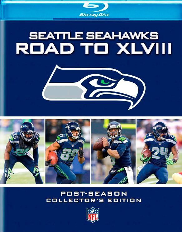 NFL: Seattle Seahawks: The Road to XLVIII [2 Discs] [Blu-ray] [2014] 5562041