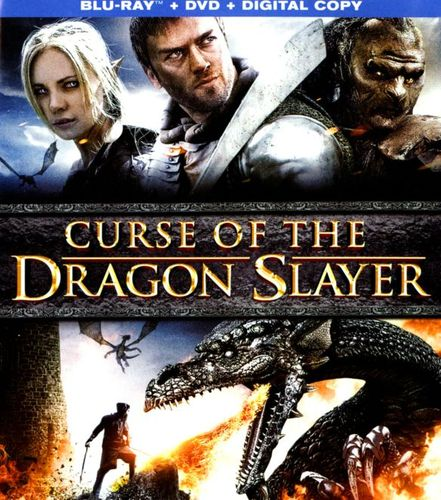 Curse of the Dragon Slayer [2 Discs] [Blu-ray/DVD] [2013] 5563233