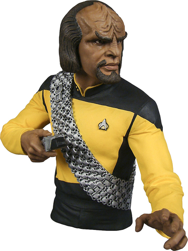 Diamond Select Toys - Star Trek: Lt. Worf Bust Bank 5568015