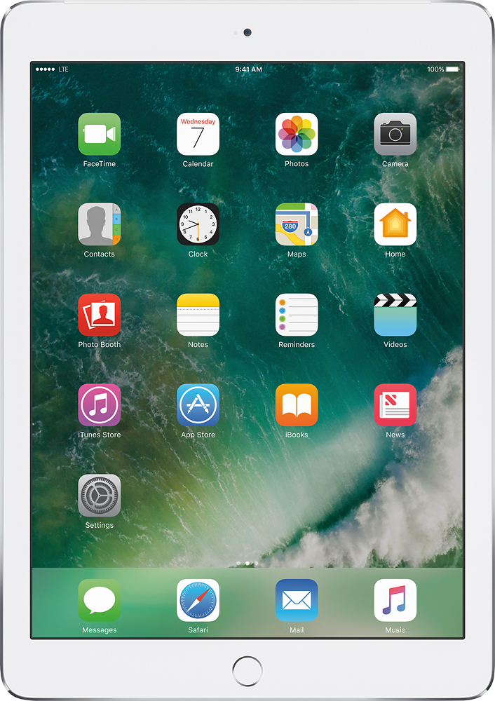 Apple iPad Air 2 with Wi-Fi + Cellular 16GB (Sprint) Silver MH2V2LL/A